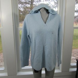 Lane Bryant Blue Sweater Hoodie Size 14/16 NWT